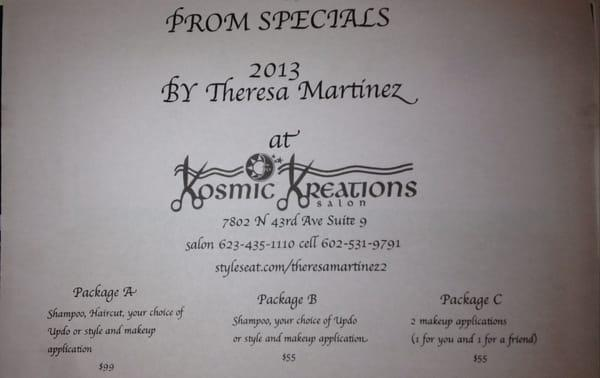 Theresa Martinez - Kosmic Kreations Salon