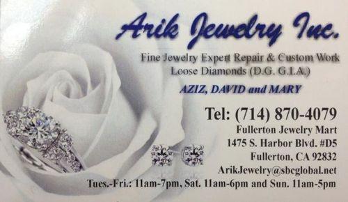 Arik Jewelry