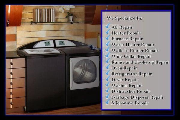 US Standard Appliance Repair