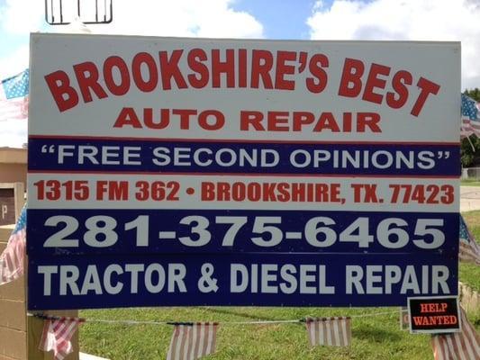 Brookshire's Best Auto Repair