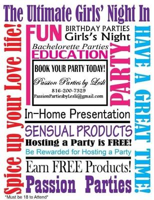 Passion Parties by Lesli