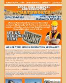Local Junk Removal & Demolition Chatsworth (818)534-8380