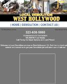 Local Demolition West Hollywood 323-928-7980