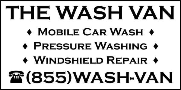 The Wash Van - Mobile Car Wash & Pressure Washing