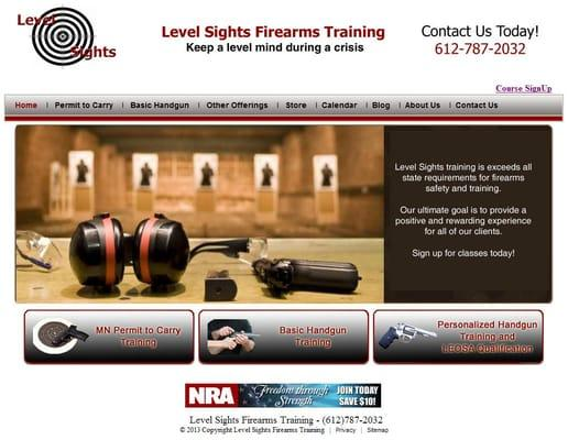 Level Sights Firearms Training