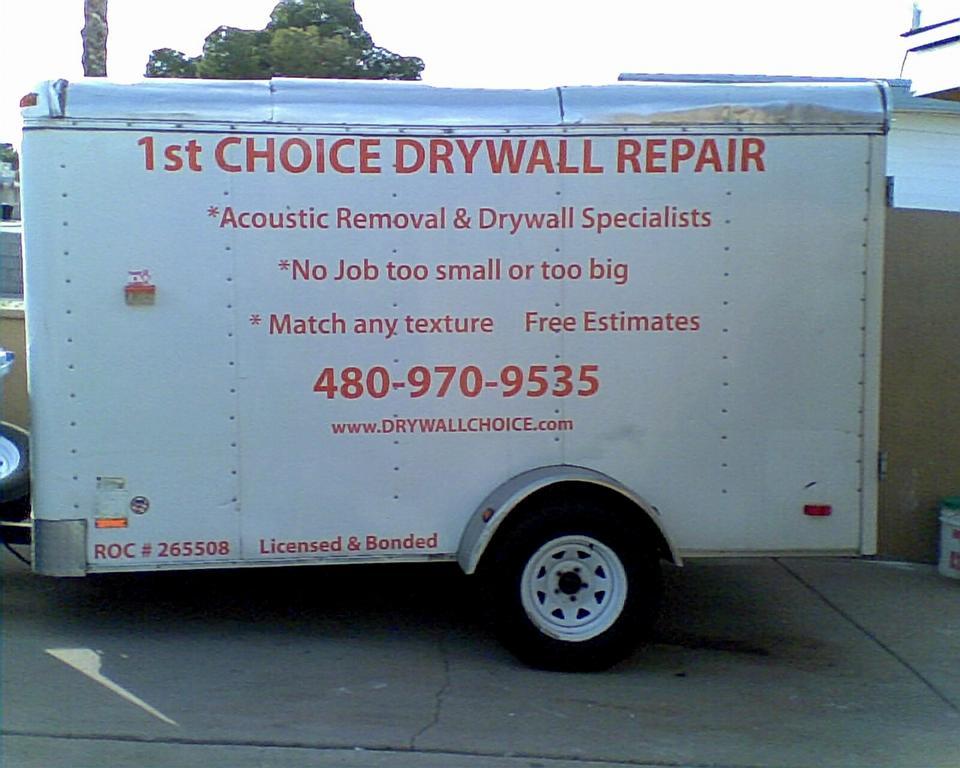 1St Choice Drywall Repair