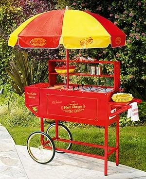 BOSSDAWGS hot dog cart sno cone popcorn cotton candy for party