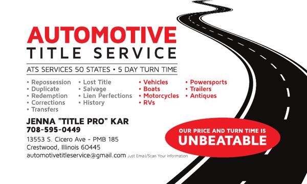 Automotive Title Service