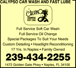 CALYPSO CAR WASH & FAST LUBE