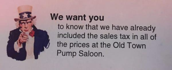 Old Town Pump Saloon
