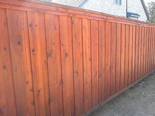 Tex Wood Fence Co. & Fence Staining