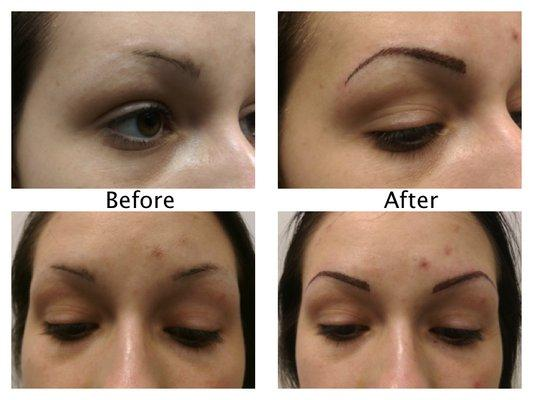 Gold Permanent Makeup