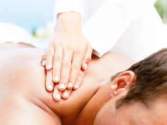 Massage Room by Karen Lee
