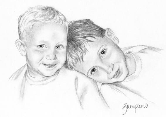 Pencil Portraits & Cards