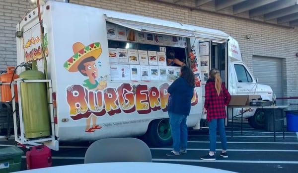 Burgerrito Food Truck