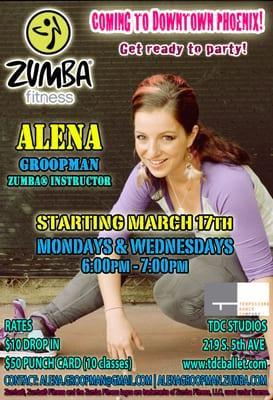 Zumba Fitness with Alena