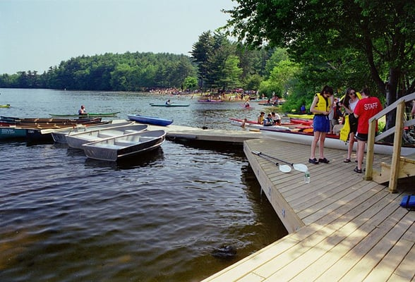 Boating in Boston at Cochituate State Park