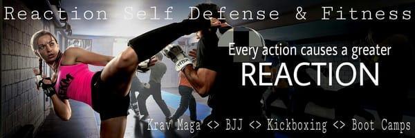 Reaction Jiu Jitsu, Krav Maga, & Kickboxing classes in Grapevine