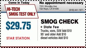Van Nuys Smog Check