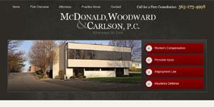 McDonald Woodward & Carlson PC