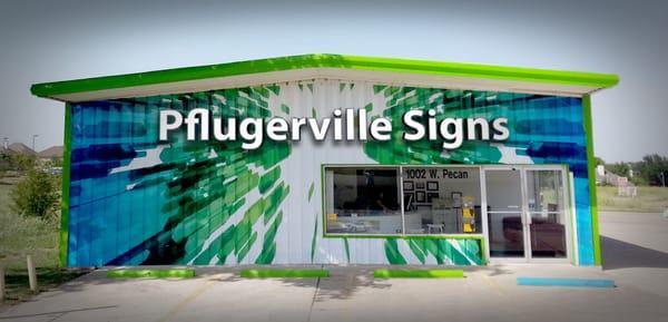 Pflugerville Signs