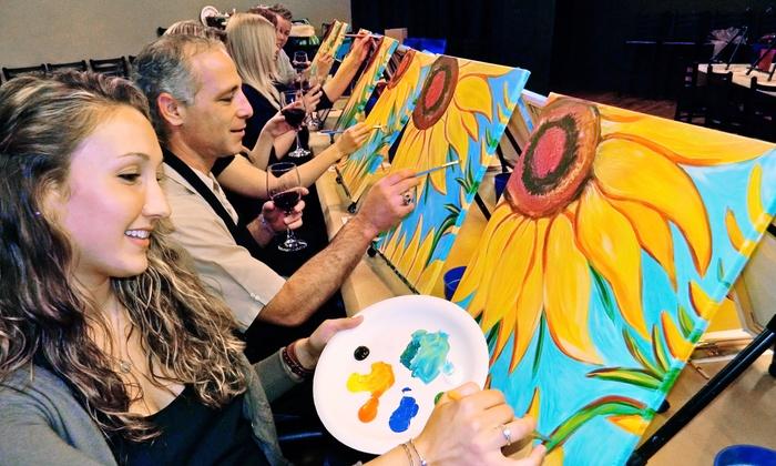 Painting & Vino San Diego