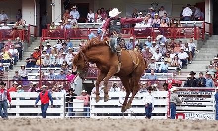 Cheyenne Frontier Days: Cinch Rodeo Shootout