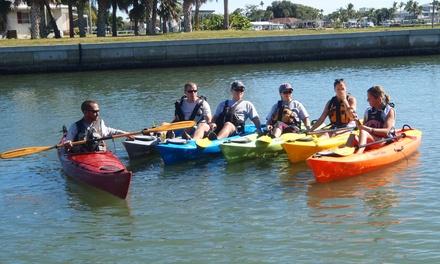Black Water,  Blue Water Kayak Tours