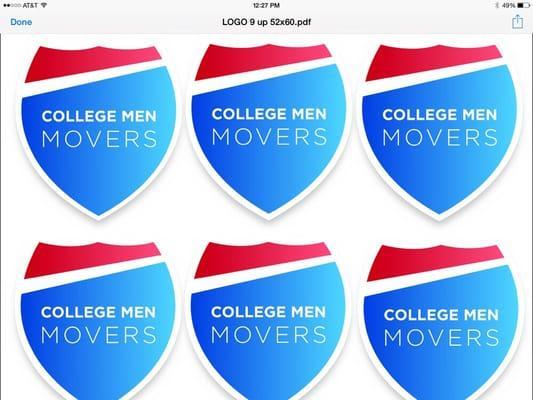 College Men Movers