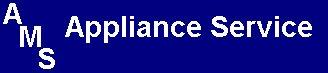AMS Appliance Service