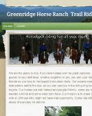 Greenridge Horse Ranch