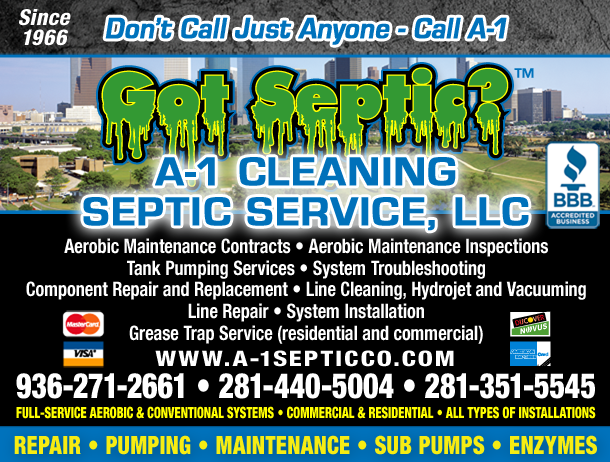 A-1 Cleaning Septic Service