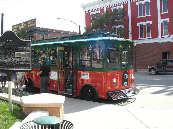Cheyenne Street Railway Trolley