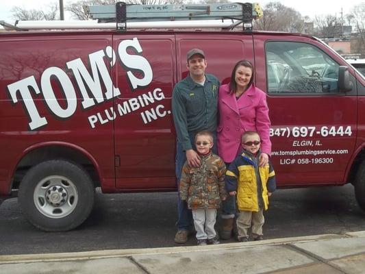 Tom's Plumbing, Inc