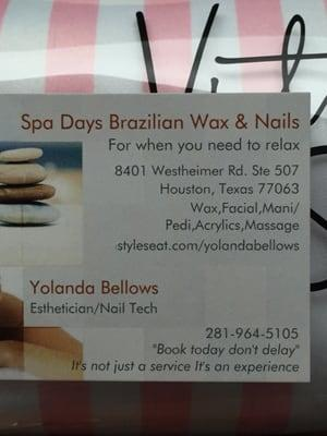 Spa Days Brazilian Wax & Nails