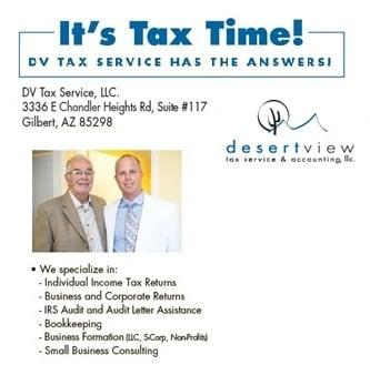 Desert View Tax Service & Accounting LLC