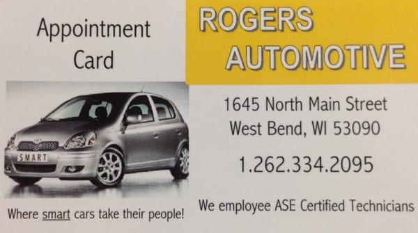 Roger's Radiator Service Inc