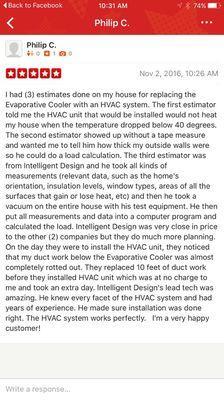Intelligent Design Air Conditioning & Heating