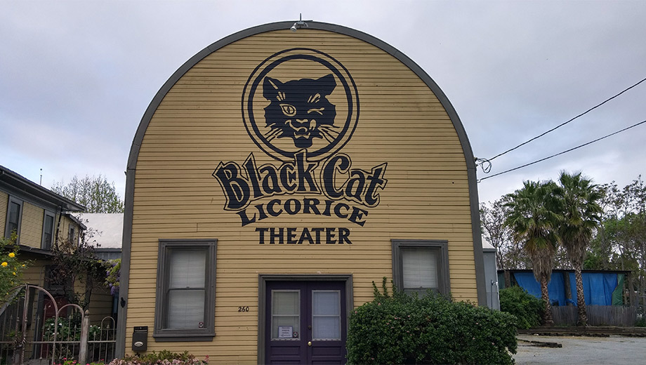 Black Cat Licorice Theater