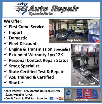 SEI Automotive Repair & Smog