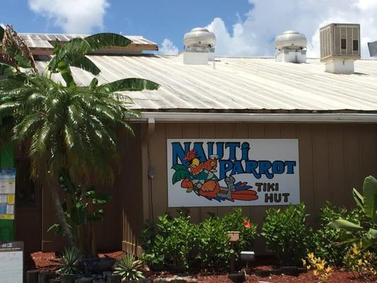 Nauti Parrot Tiki Hut
