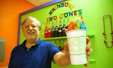 Rainbow Sno-Cones