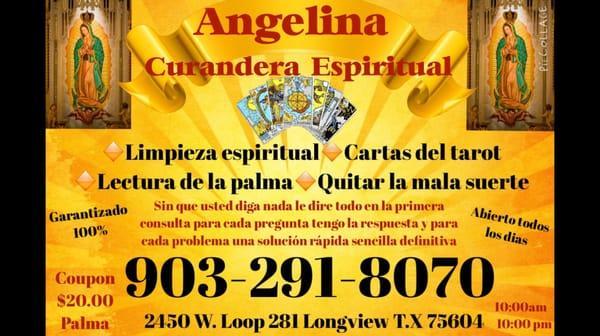 Consejera Espiritual Angelina