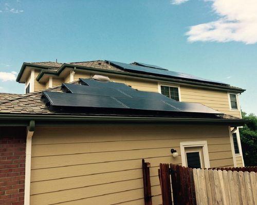 LA Solar Installation