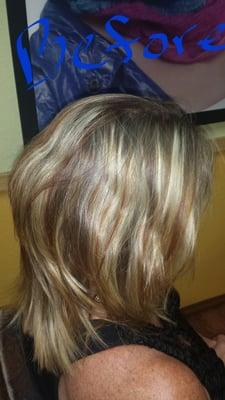 Crystal's Cut and Color