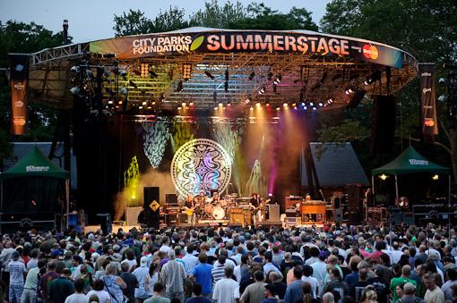 SummerStage, Central Park
