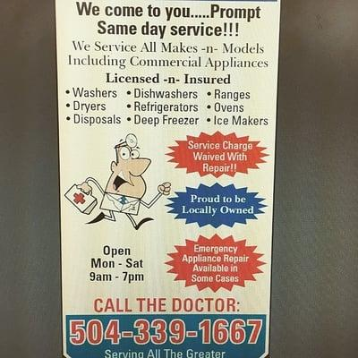 A Appliance Doctor