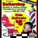 Suede Barber Beauty & Tattoo Parlor