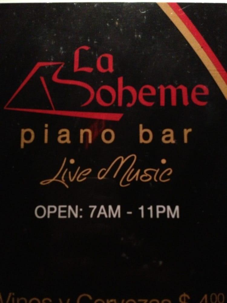 La Boheme Restaurant & Piano Bar