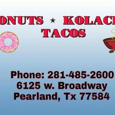 Donuts Kolaches &  Tacos